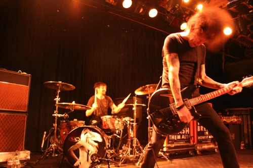 against me and fences photo 1 Against Me!, Fences close out second night handily at San Franciscos Slims (2/1)