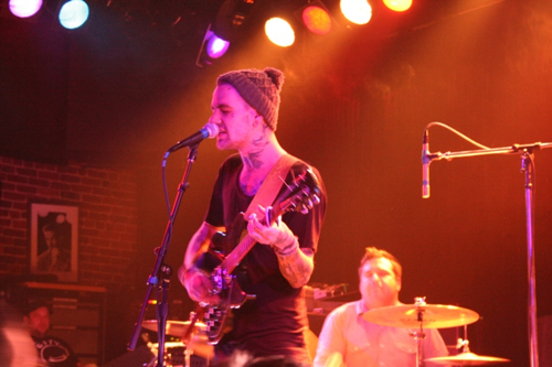 against me and fences photo 2 Against Me!, Fences close out second night handily at San Franciscos Slims (2/1)