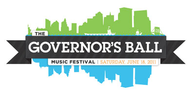 governorsball logo select Big Boi, Girl Talk head inaugural Governors Ball Music Festival