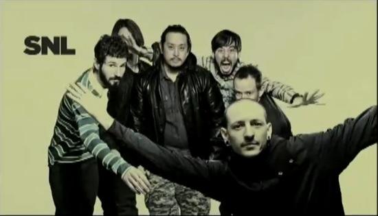linkin park snl Last Night: Linkin Park perform on Saturday Night Live