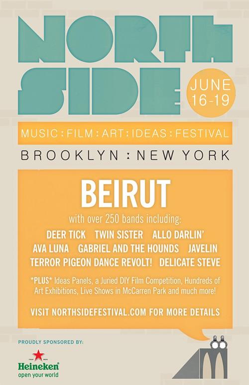 northside 2011 Beirut heads Northside Festival 2011