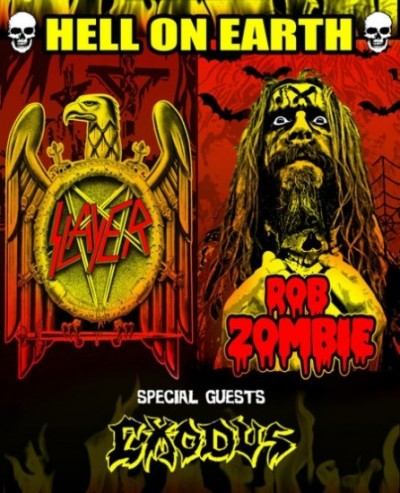 """slayerzombie e1301365939940 Slayer and Rob Zombie join forces for the """"Hell On Earth"""" tour"""