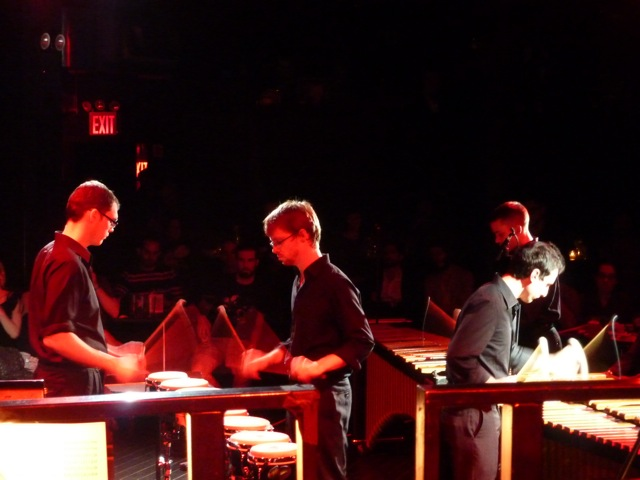 axiomdrummingnyc5 Live Review: Axiom performs Steve Reichs Drumming in NYC (5/8)