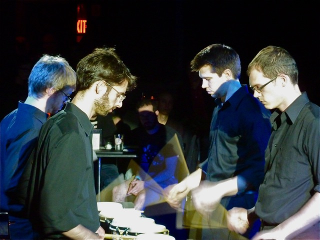 axiomdrummingnyc6 Live Review: Axiom performs Steve Reichs Drumming in NYC (5/8)