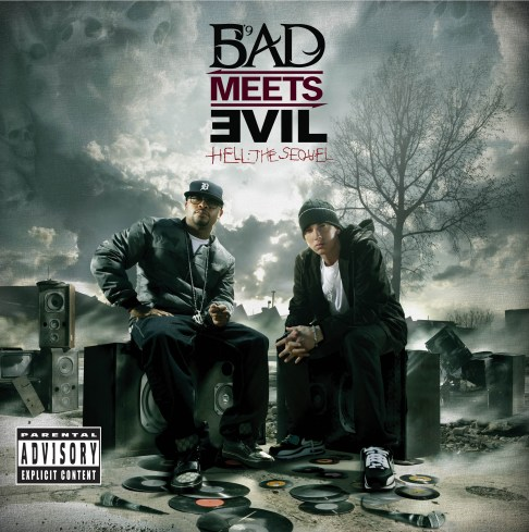 eminem royce cover rapradar 1 Bad Meets Evil (Eminem & Royce da 5'9) details Hell: The Sequel