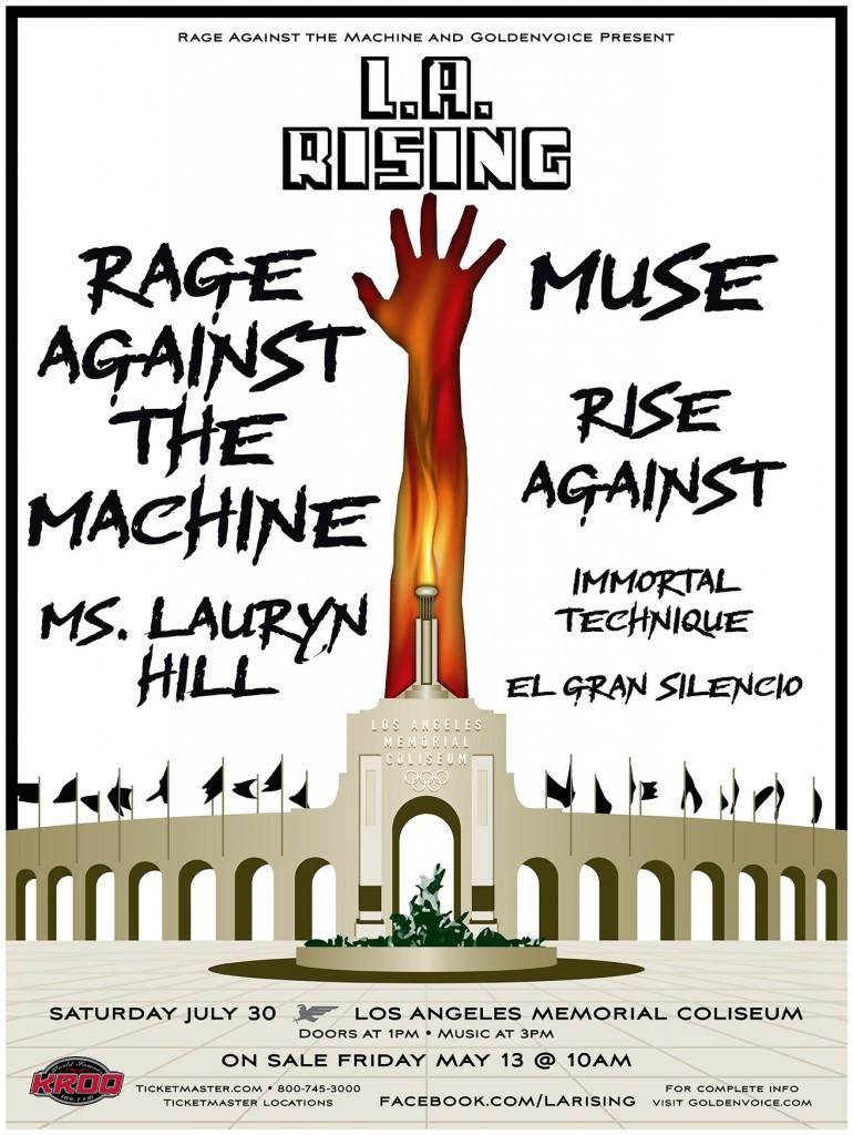 la rising 20112 770x1024 Rage Against the Machine details L.A. Rising concert