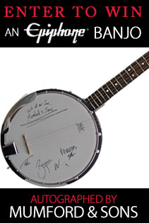 CoS Reader Survey + autographed Mumford & Sons banjo giveway