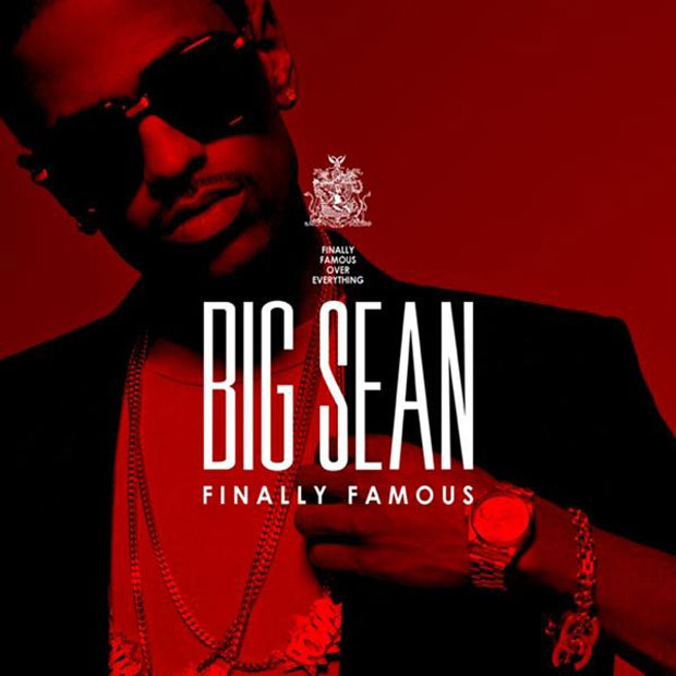 big sean finally famous official album cover Video: Big Sean and Kanye West hit 106 & Park with Marvin Gaye and Chardonnay