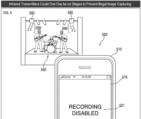 bits appleinfra blog480 Apple to ban iPhone concert filming?