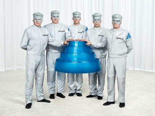 devo floating dome Devo announces Colorado, California tour dates