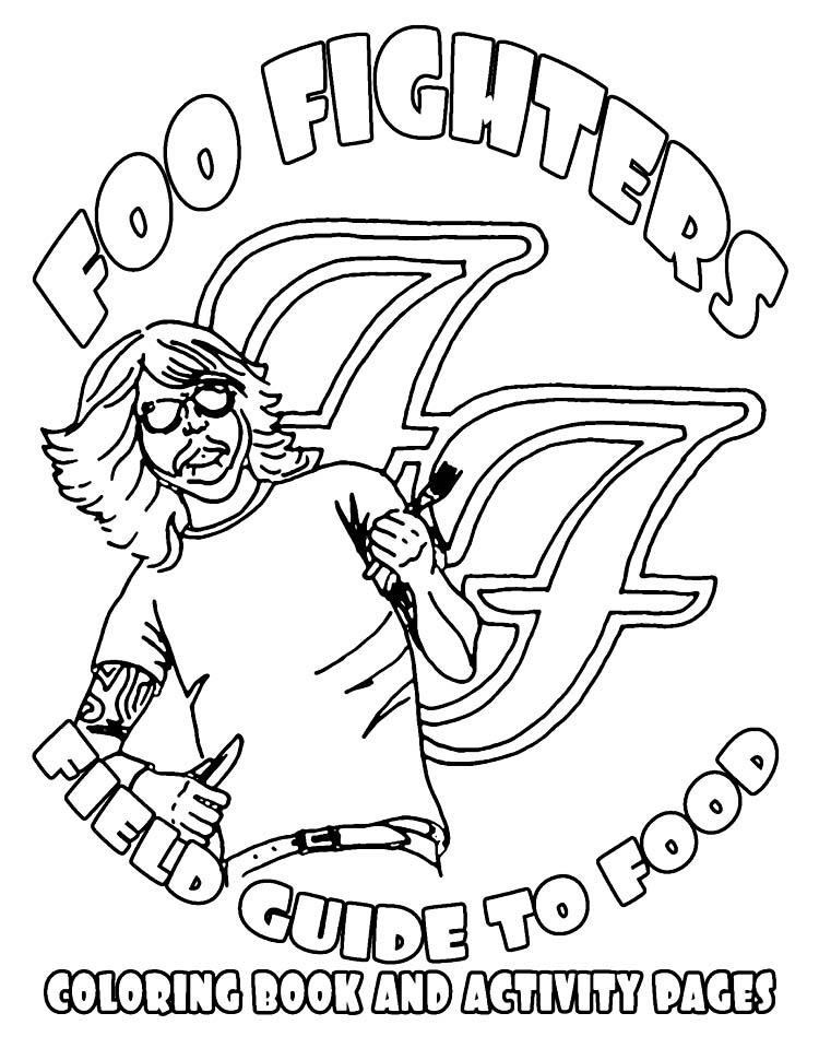 foo tour rider Foo Fighters draw up incredible tour rider