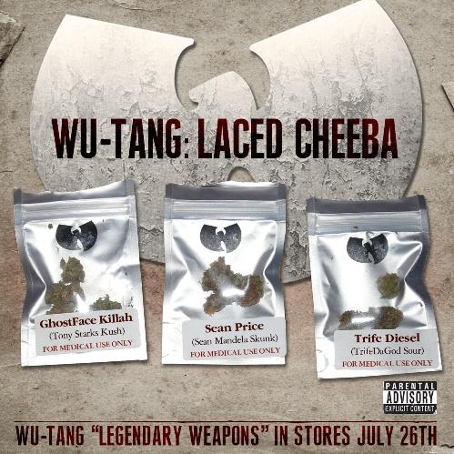 laced cheeba cover Check Out: Wu Tang Clan   Laced Cheeba