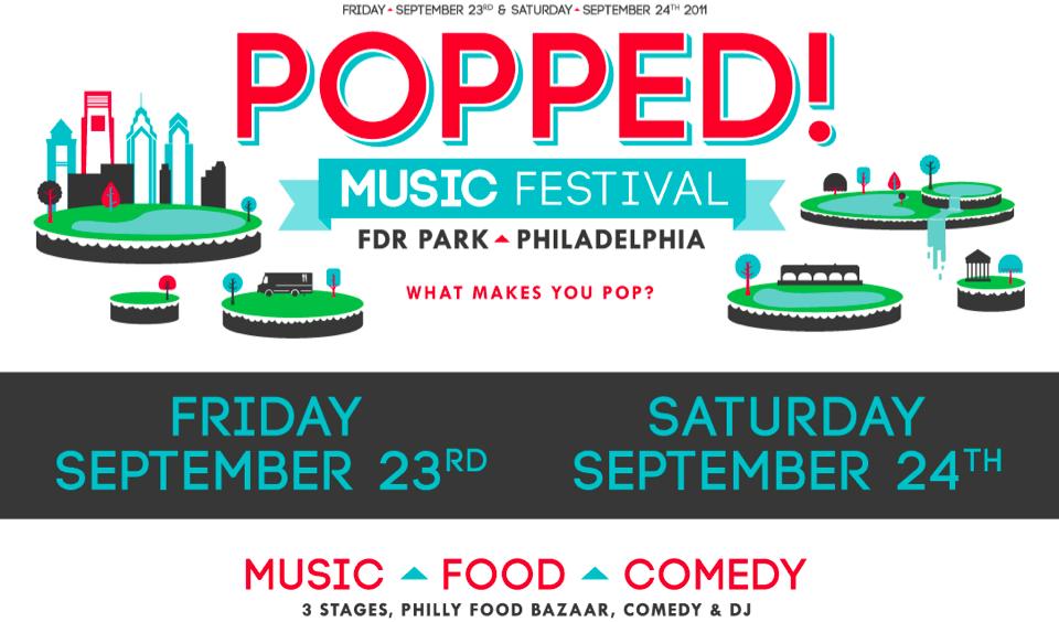 popped music festival Update: The Shins, Girl Talk, Rakim head revamped Popped! Music Festival 2011