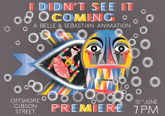 seeitcomingposter2 552x390 Watch: Belle & Sebastian   Come On Sister