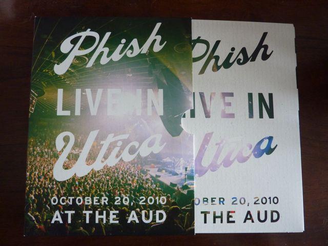 utica3 Whats in the Box!?: Phish   Live in Utica DVD/CD Box Set