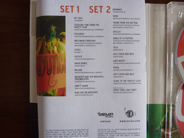utica6 Whats in the Box!?: Phish   Live in Utica DVD/CD Box Set