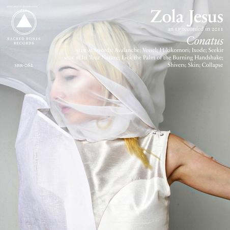 zola jesus contaus Zola Jesus announces new album: Conatus