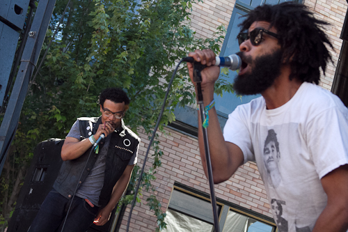 chbp champagne2 Festival Review: CoS at Capitol Hill Block Party 2011