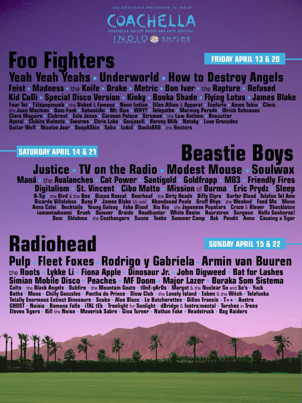 coachella fake 4 And we now have our first Coachella 2012 fake posters...
