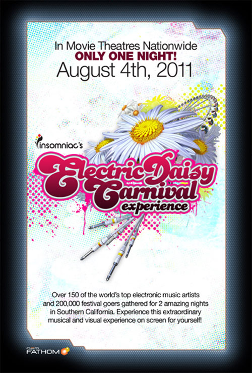 edc experience poster sm Giveaway: Tickets to the premiere of Electric Daisy Carnival Experience