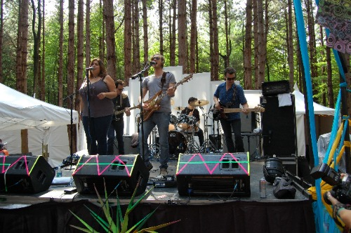 friday forest van ghost Festival Review: CoS at Electric Forest 2011