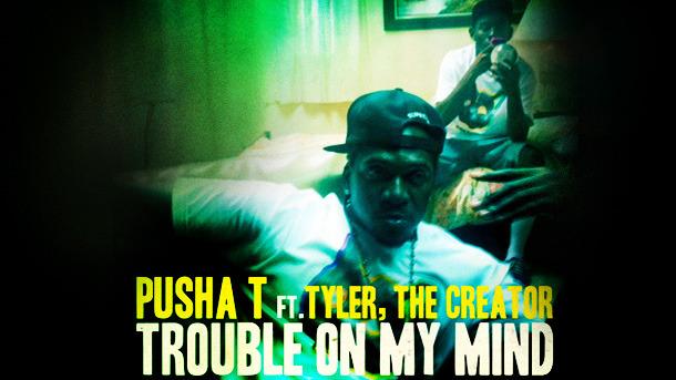 pusha t tyler the creator Video: Pusha T feat. Tyler, The Creator   Trouble On My Mind