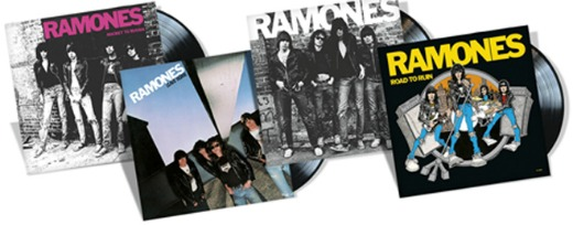 ramonesvinyl First four Ramones albums to be reissued on vinyl