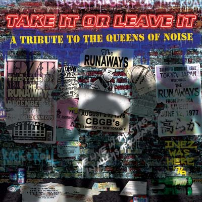 various take it or leave it runaways tribute Check Out: Kathleen Hanna & Peaches rock The Runaways Dead End Justice (CoS Premiere)