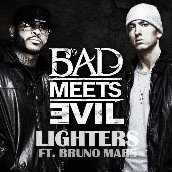 bad meets evil feat bruno mars lighters Video: Bad Meets Evil feat. Bruno Mars   Lighters