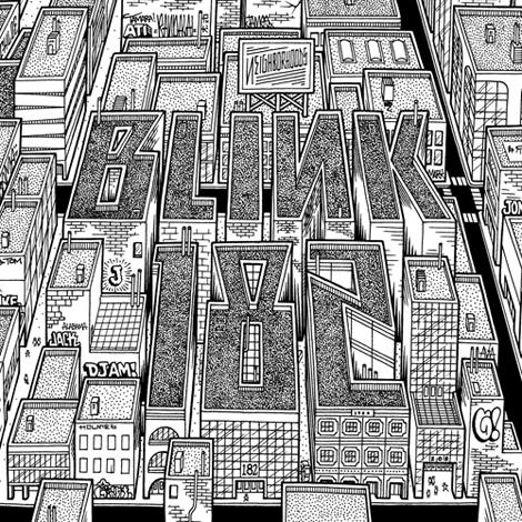 blink 182 neighborhoods Look: Blink 182s artwork for Neighborhoods