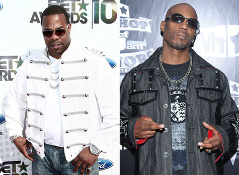busta dmx Check Out: DMX and Busta Rhymes   Otis