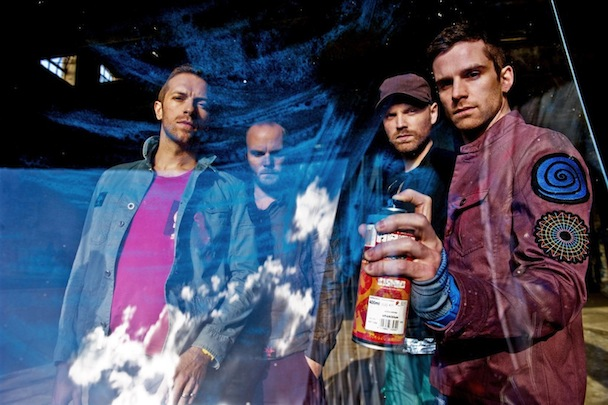 coldplay 2011 Video: Coldplay hits Kimmel