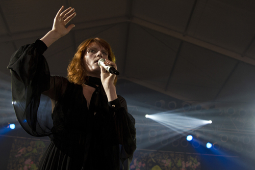 friday florence 1 Video: Florence and the Machine on Letterman