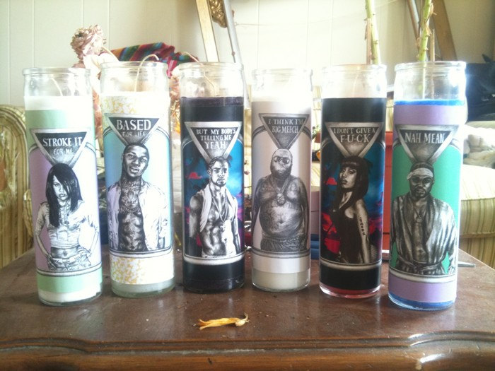 Finally: Hip hop Votive Candles