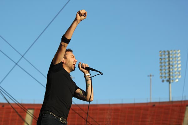 riseagainstkroq Live Review: Rage Against the Machine, Muse, Lauryn Hill at LA Rising 2011