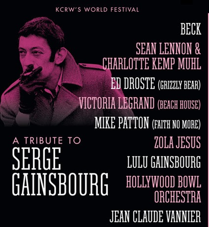serge tribute Video: Beck, Grizzly Bears Ed Droste pay tribute to Serge Gainsbourg