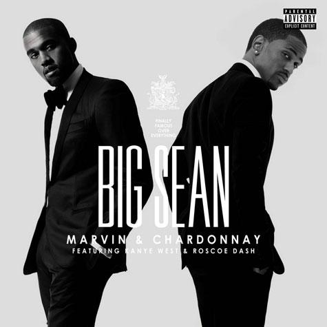 big sean marvin chardonnay single cover artwork art Video: Big Sean feat. Kanye West, Roscoe Dash   Marvin & Chardonnay
