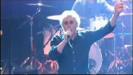 daltrey1 Video: Roger Daltrey introduces Leno to a Pinball Wizard