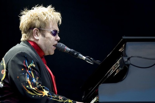 elton john 1 Elton John producing his own upcoming biopic, Rocketman