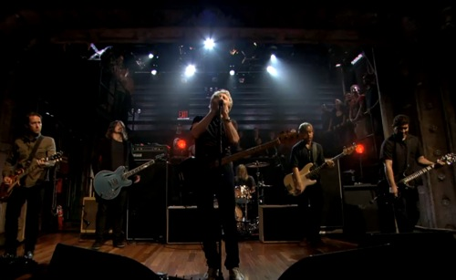 "foo waters Video: Foo Fighters and Roger Waters ""In the Flesh"" on Fallon"