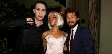 manson labeouf Marilyn Mansons Shia LaBeouf directed short film: Born Villain