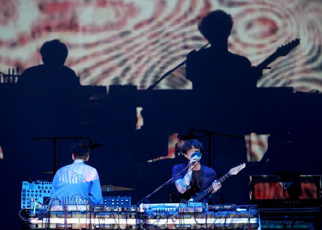 pandabearhollywood Live Review: TV on the Radio, Arctic Monkeys, Panda Bear at the Hollywood Bowl (9/25)