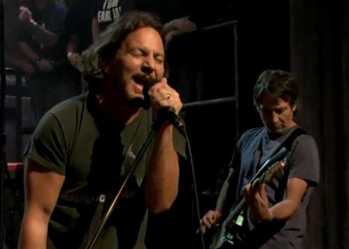 pearl jam fallon1 Video: Pearl Jam brings All Night to Fallon