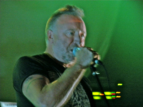 "peterhook4 Video: Peter Hook & Billy Corgan perform ""Transmission""/""Love Will Tear Us Apart"""