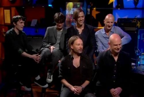 radiohead colbert Video: Radiohead hits The Colbert Report