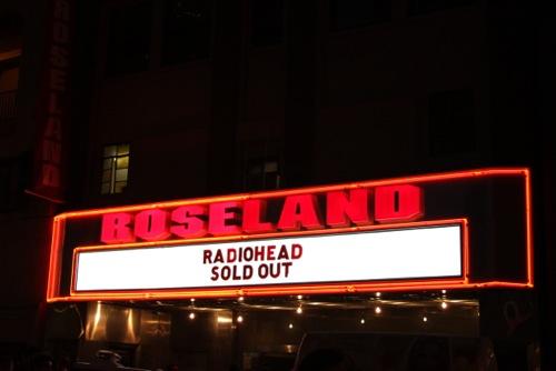 radiohead roseland 201101 Live Review: Radiohead at Roseland Ballroom (9/28)