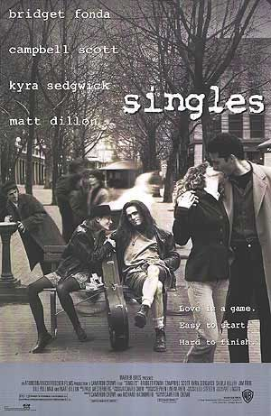 singles poster CoS on Film: Singles (1992)