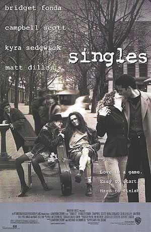 singles poster CoS on Film: Singles (1992)
