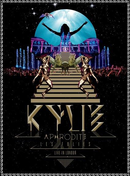aphrodite dvd artwork Kylie Minogue to release Aphrodite Les Folies: Live in London