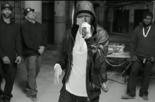 Video: Eminem leads Shady Records Cypher at BET Awards